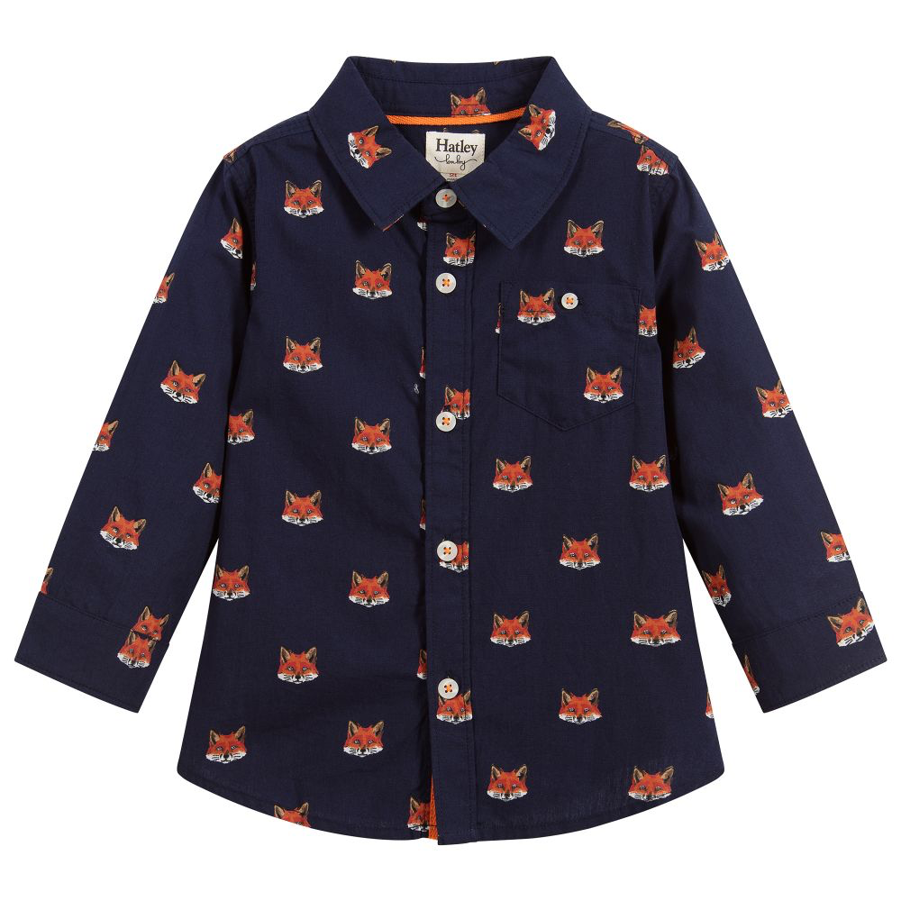 little boy hatley baby button down shirt