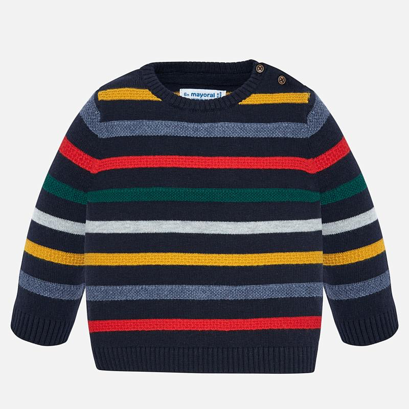 baby boy mayoral striped sweater