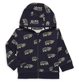 little boy hatley baby reversible hoodie