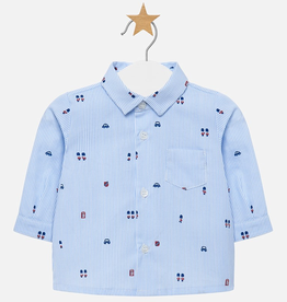 little boy mayoral buttondown