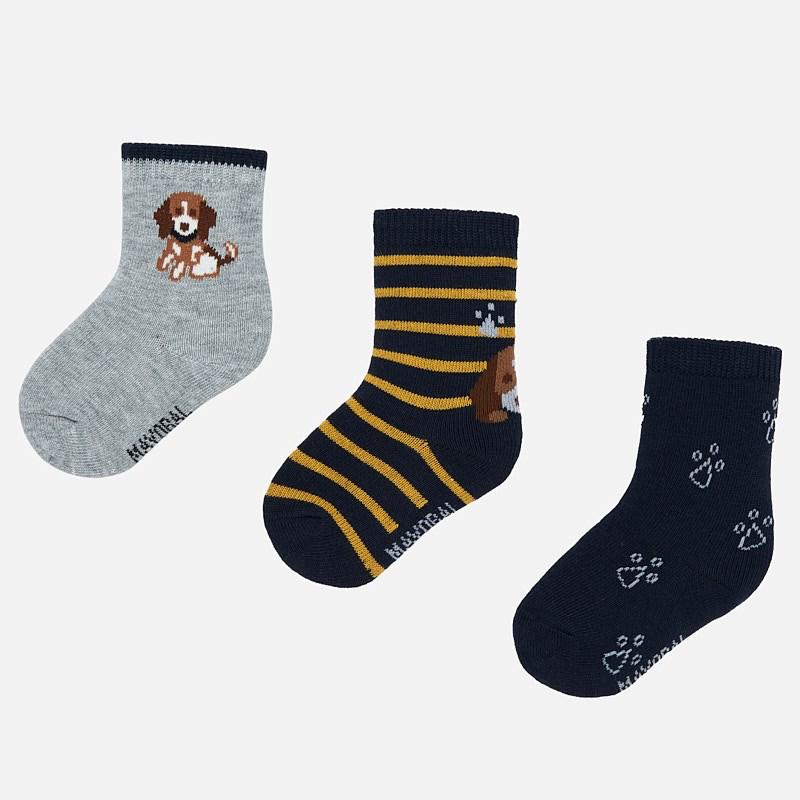 little boy mayoral set of 3 socks