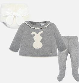 little girl mayoral sweater & bloomer set