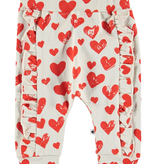 little girl molo safira ruffle joggers