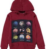 boy molo mix hoodie