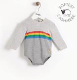 little one bonnie mob organic knit romper