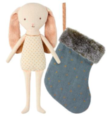 playtime Maileg bunny angel in stocking