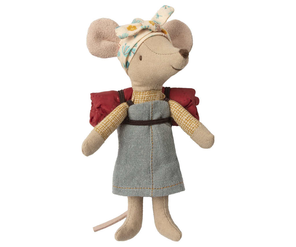 playtime Maileg mouse hiker girl