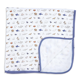 baby magnetic me organic swaddle blanket