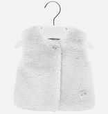 little girl mayoral fur vest