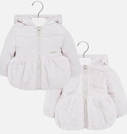 little girl mayoral reversible jacket