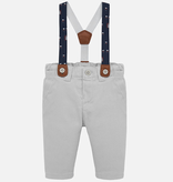 little boy mayoral pants w/suspenders