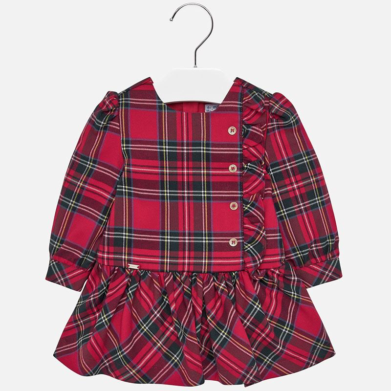 little girl mayoral plaid dress