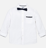 boy mayoral buttondown w/ bowtie