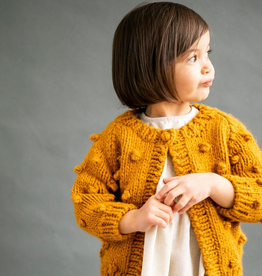little girl knit dot sweater