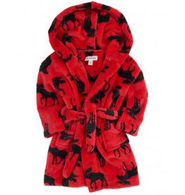 kid hatley fleece robe