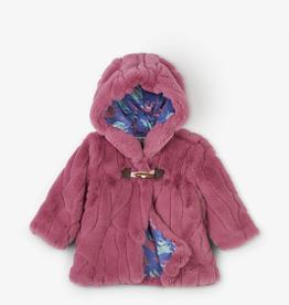 little girl hatley fur hoodie