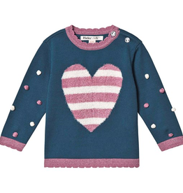 little girl hatley pom pom sweater