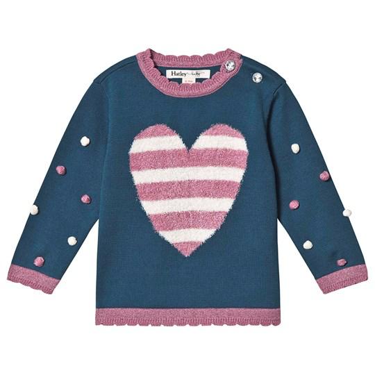 little girl hatley pom pom sweater