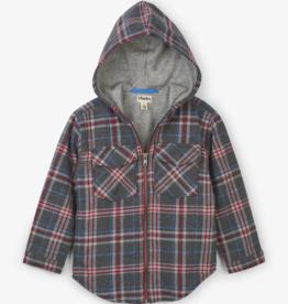 boy hatley woven hoodie