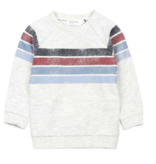 boy miles baby striped sweatshirt