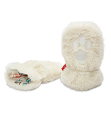 baby magnetic baby bear minky mittens