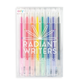 playtime radiant writers glitter gel pens