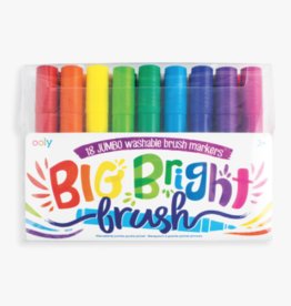 playtime big bright brush markers (set of 18)