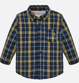 little boy mayoral fleece lined flannel