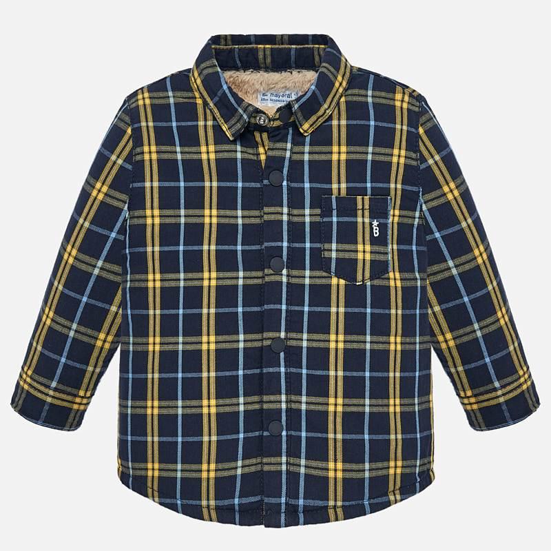 little boy mayoral fleece lined flannel