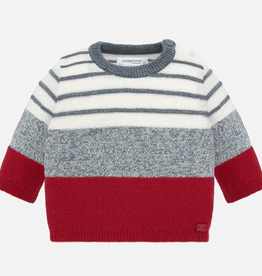 little boy mayoral striped sweater