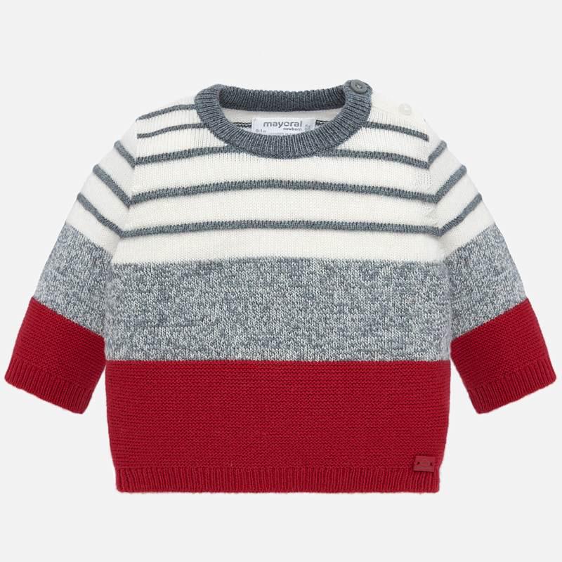 little boy mayoral striped sweater