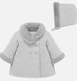 little girl mayoral knit coat with hat