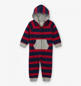 little boy hatley hooded romper