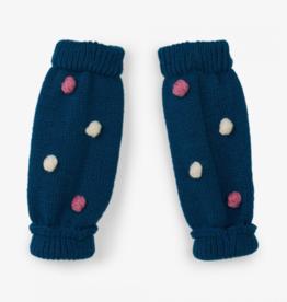 little girl hatley pom pom leg warmers