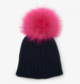 kid hatley knit pom hats