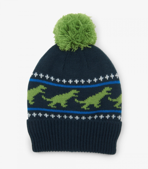 kid hatley knit pom hats