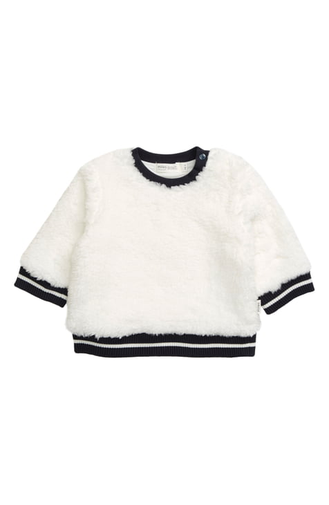little girl miles baby fluffy sweatshirt