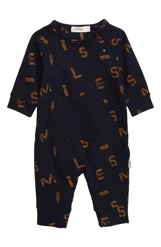 little one miles baby romper