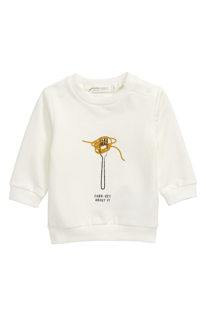 boy miles baby sweatshirt