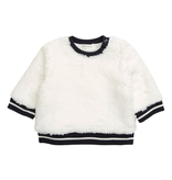 girl miles baby fluffy sweatshirt