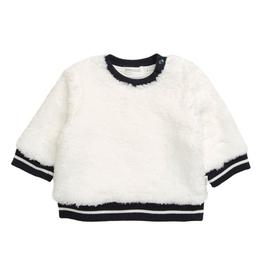 girl miles baby fluffy sweatshirt