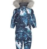 kid molo pyxis fur snowsuit