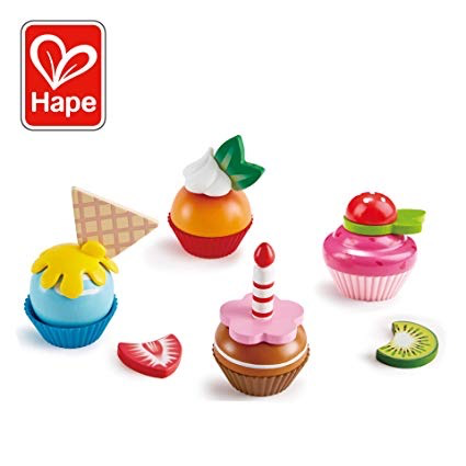 playtime hape cupcakes, 3+