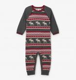 little boy hatley sweater romper