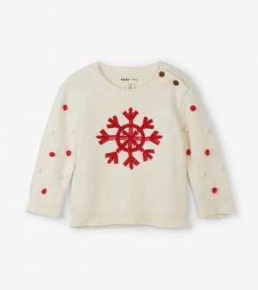 girl hatley pom pom sweater