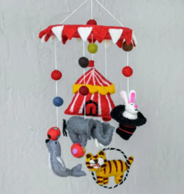 decor hand felted mobile (made in Nepal)