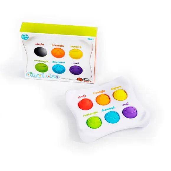 playtime fat brain toys dimple duo, 12m+