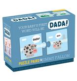 playtime your baby's first word will be dada puzzle - jimmy fallon