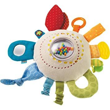 playtime haba cuddly rainbow round, 6m+