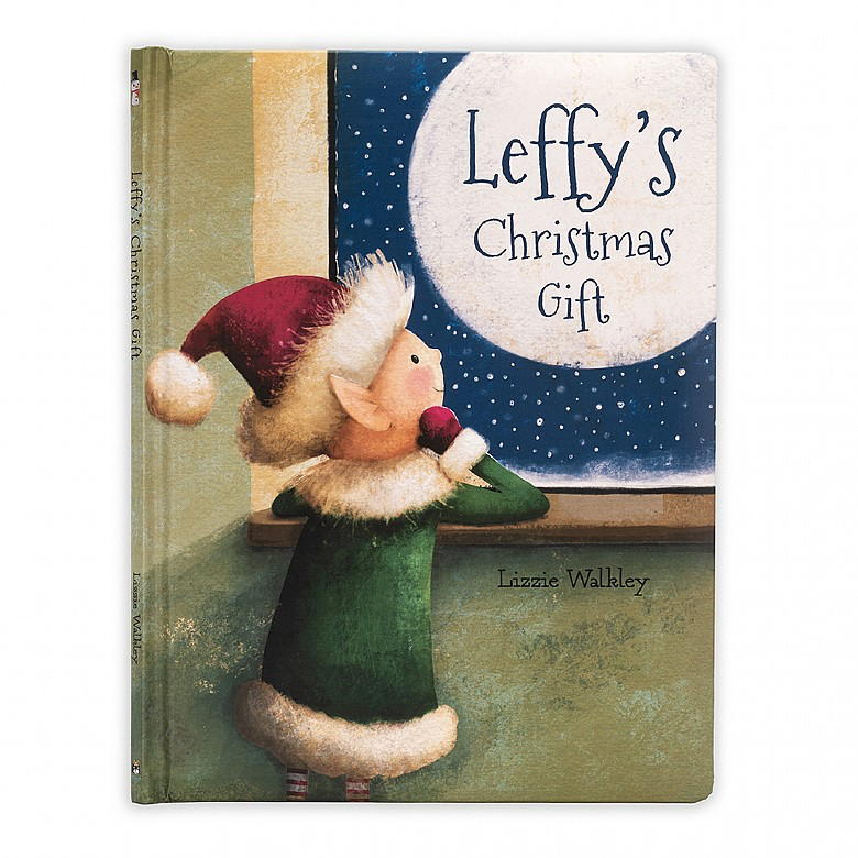 playtime jellycat leffy's christmas gift book